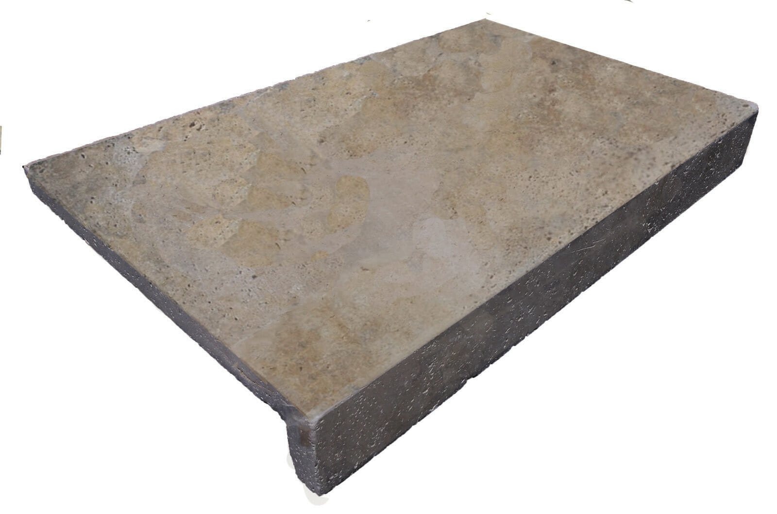 Noce Travertine Rebate Pool Coping Tiles