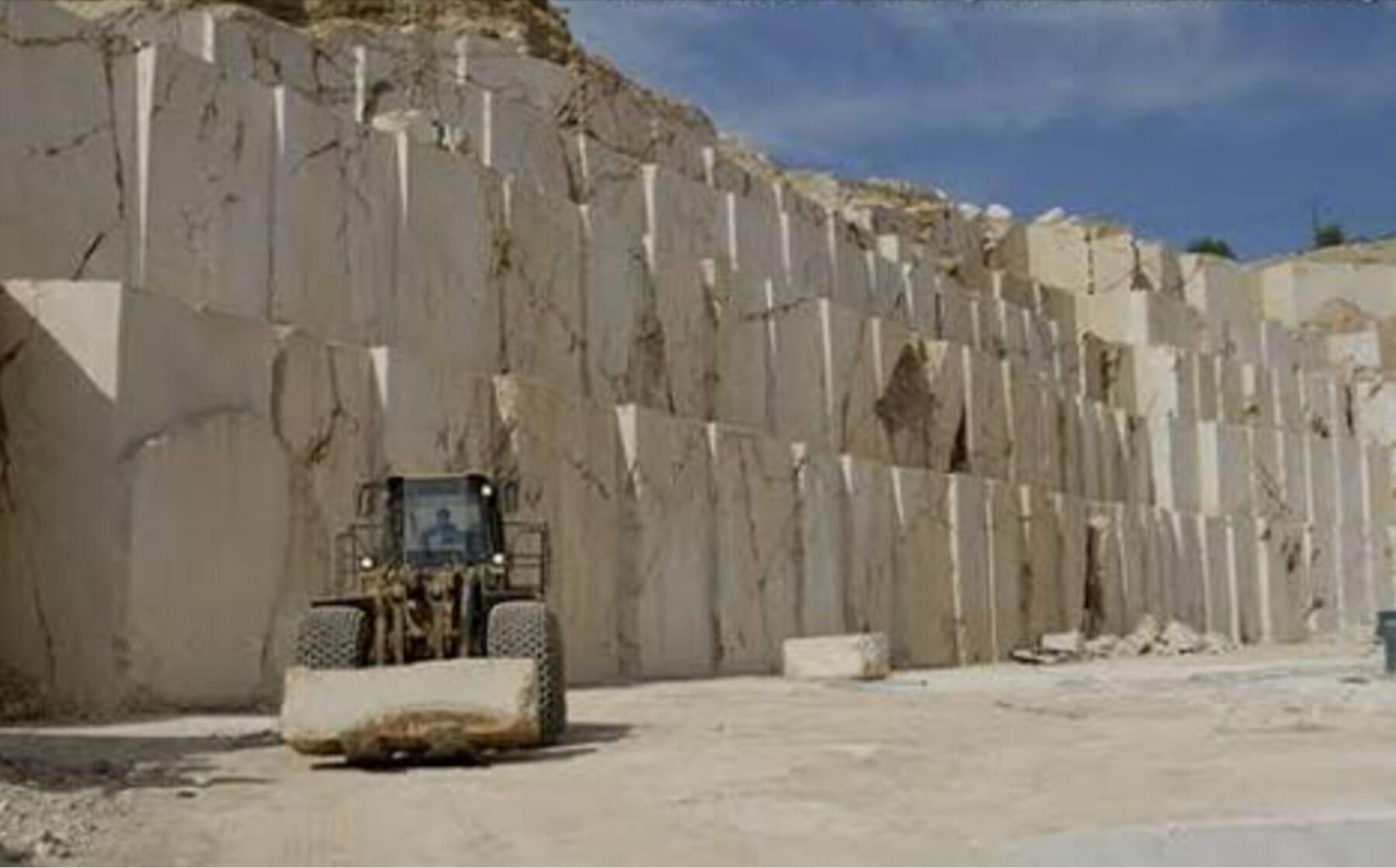 Travertine Quarry Turkey