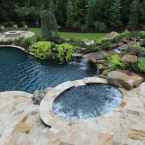 antique travertine french pattern unfilled and tumbled travertine pavers and pool coping tiles