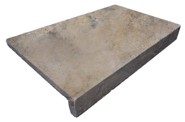 antique unfilled and tumbled Travertine Pool Coping