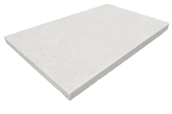 Capri White Pool Coping tumbled
