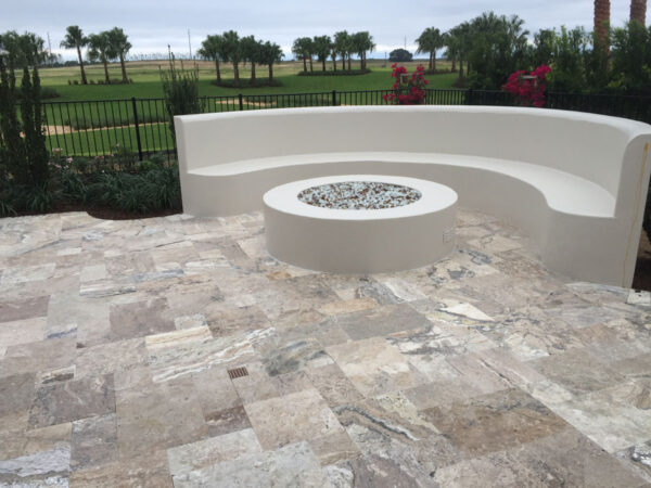 Silver Travertine Sale