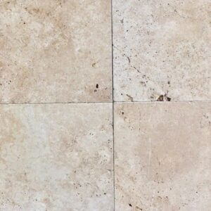 ivory travertine tiles brisbane unfilled and tumbled pavers