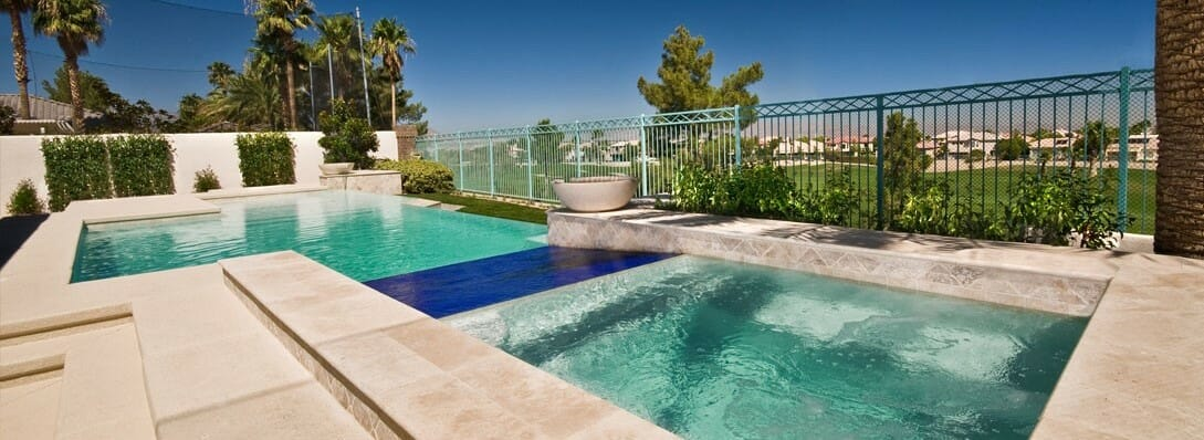 Why you should use non slip travertine tiles around your - Non slip tiles for swimming pools ...