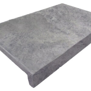 PEARL GREY Limestone DROP FACE POOL COPING TILE