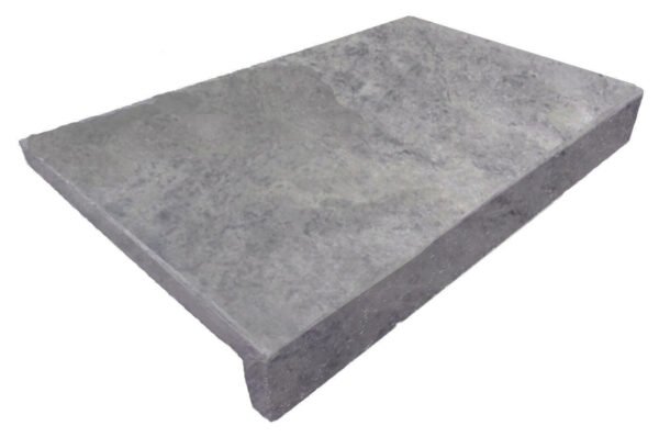 PEARL GREY Limestone DROP FACE POOL COPING TILE