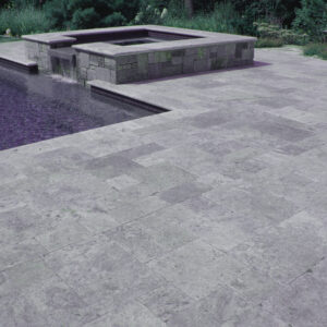 PEARL GREY DROP FACE POOL COPING TILE