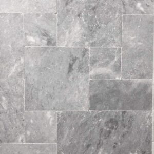 Pearl Grey Limestone french pattern