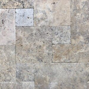 Silver Travertine Pool Tiles