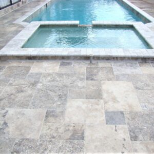 Silver Oyster Travertine