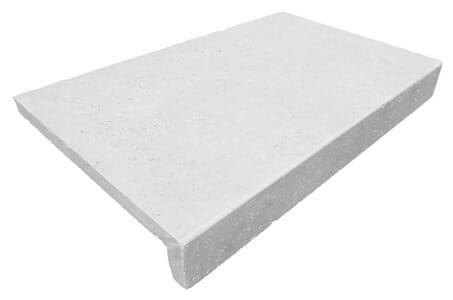shell White limestone Pool Coping Tiles rebate