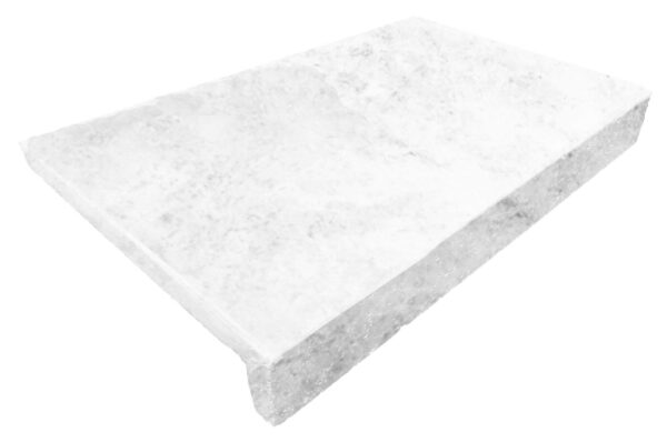 WHISTLER WHITE DROP FACE POOL COPING