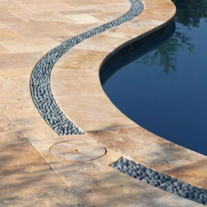 travertine pavers pool tiles Sydney