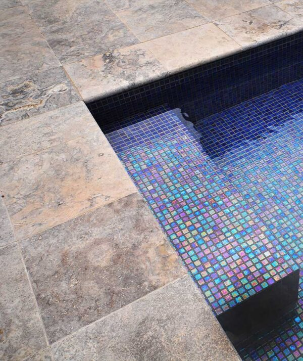 pool tiles travertine pavers Melbourne