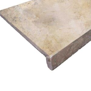 Classic Travertine Drop dsown pool coping tiles